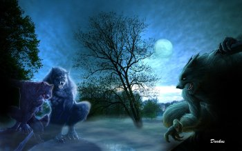 Dark - Werewolf Wallpapers and Backgrounds ID : 178638