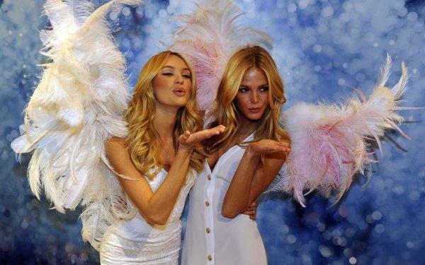 Women Model Models Erin Heatherton Candice Swanepoel HD Wallpaper | Background Image