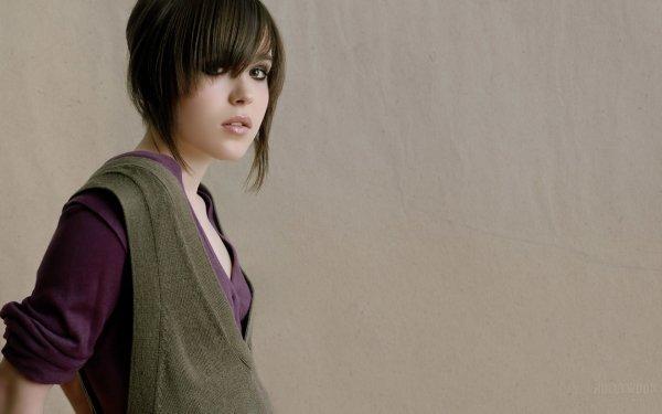 Celebrity Ellen Page Actresses Canada HD Wallpaper   Background Image