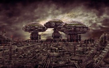 Science-Fiction - Großstadt Wallpapers and Backgrounds ID : 183034
