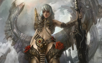 Sci Fi - Women Warrior Wallpapers and Backgrounds ID : 183118