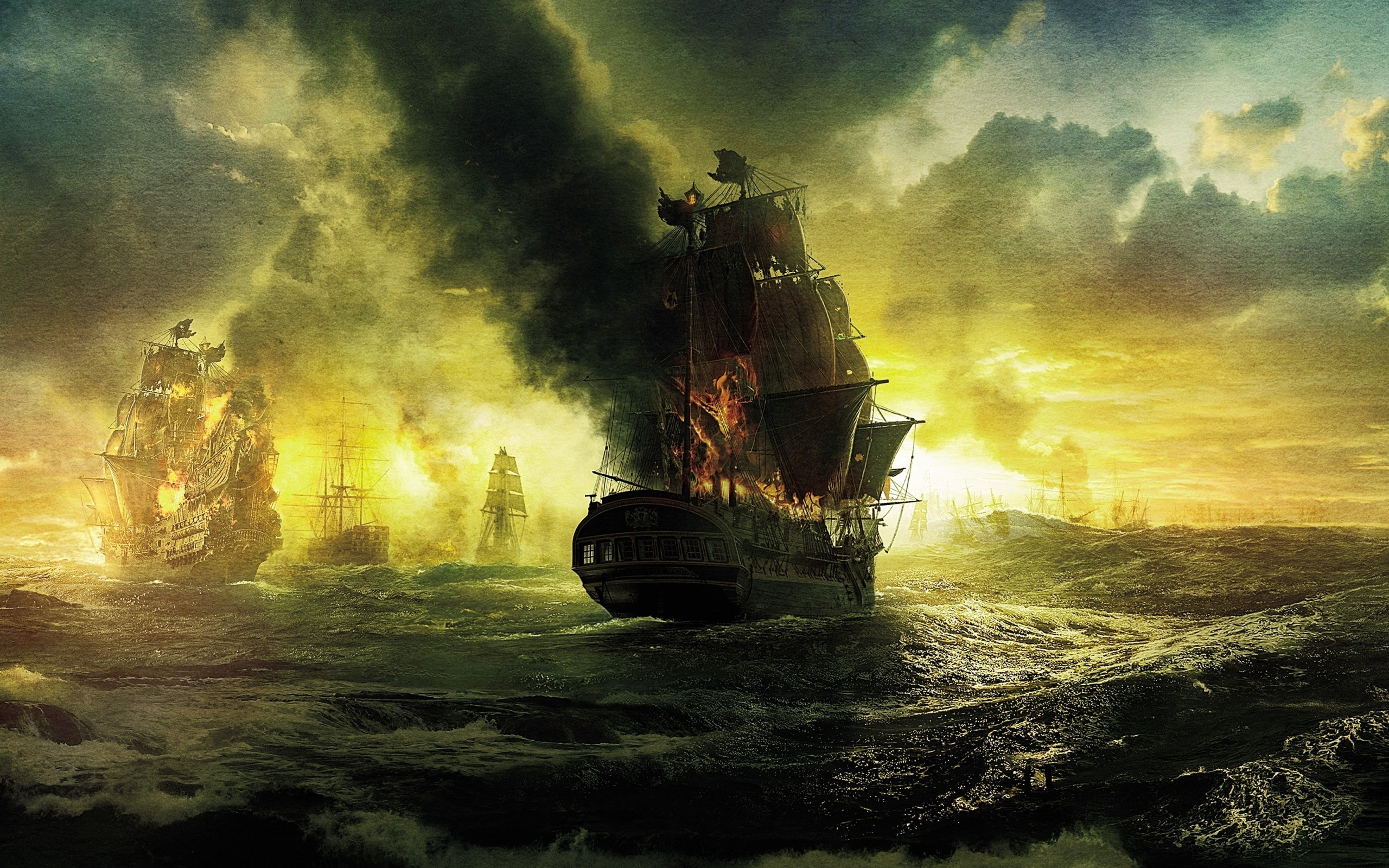 Movie - Pirates Of The Caribbean: On Stranger Tides  Pirate Wallpaper