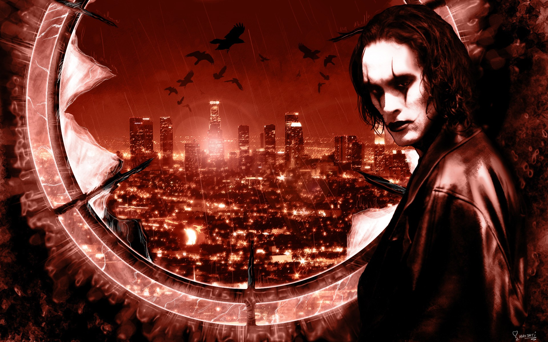the crow wallpaper iphone