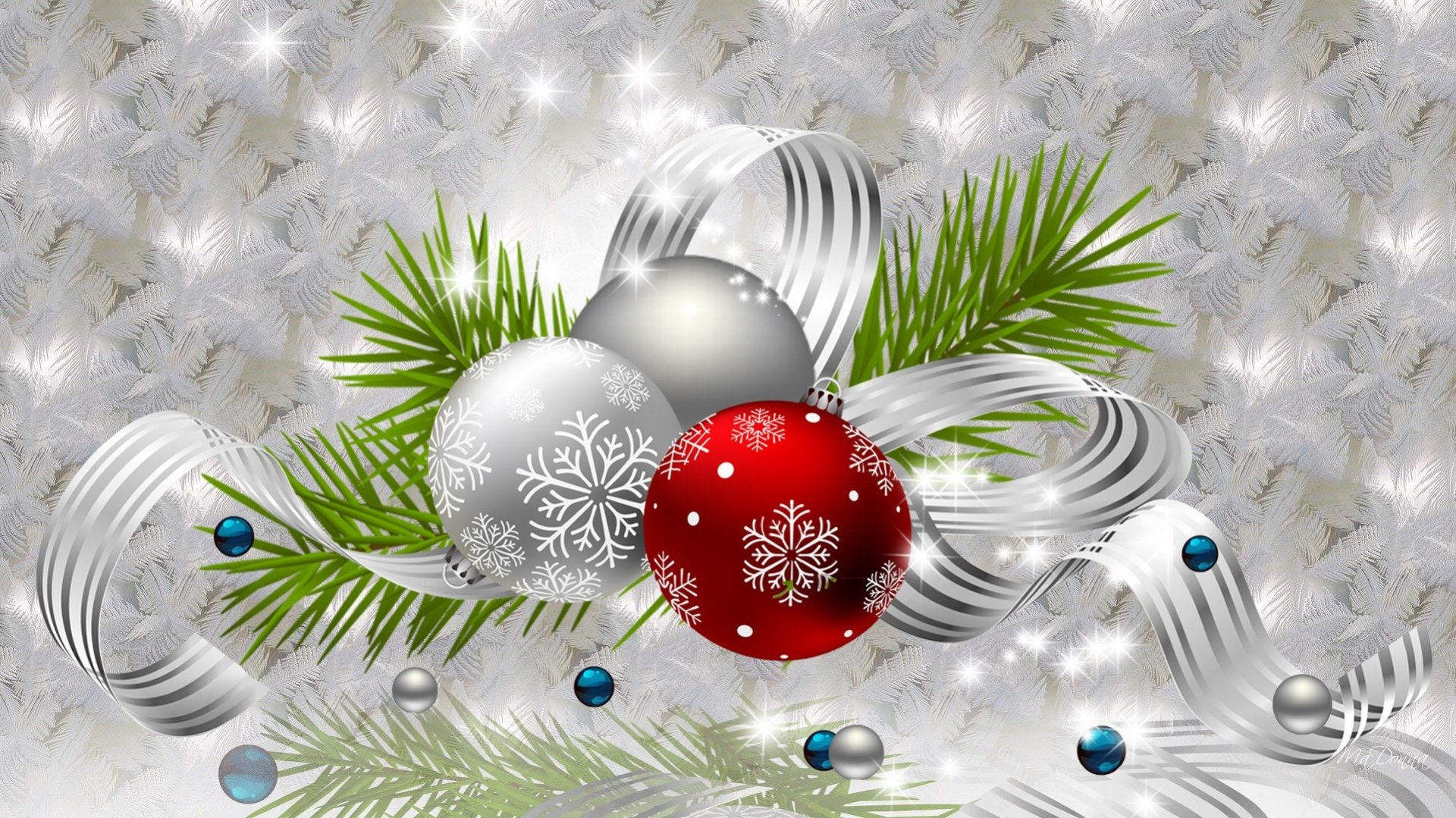 christmas ornaments wallpaper 8026 - photo #18