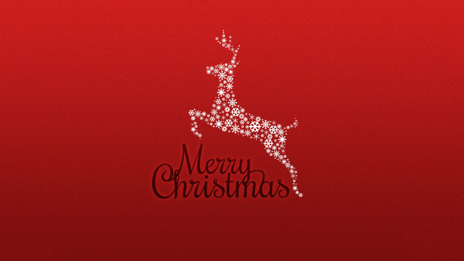 Holiday - Christmas  Reindeer Merry Christmas Wallpaper
