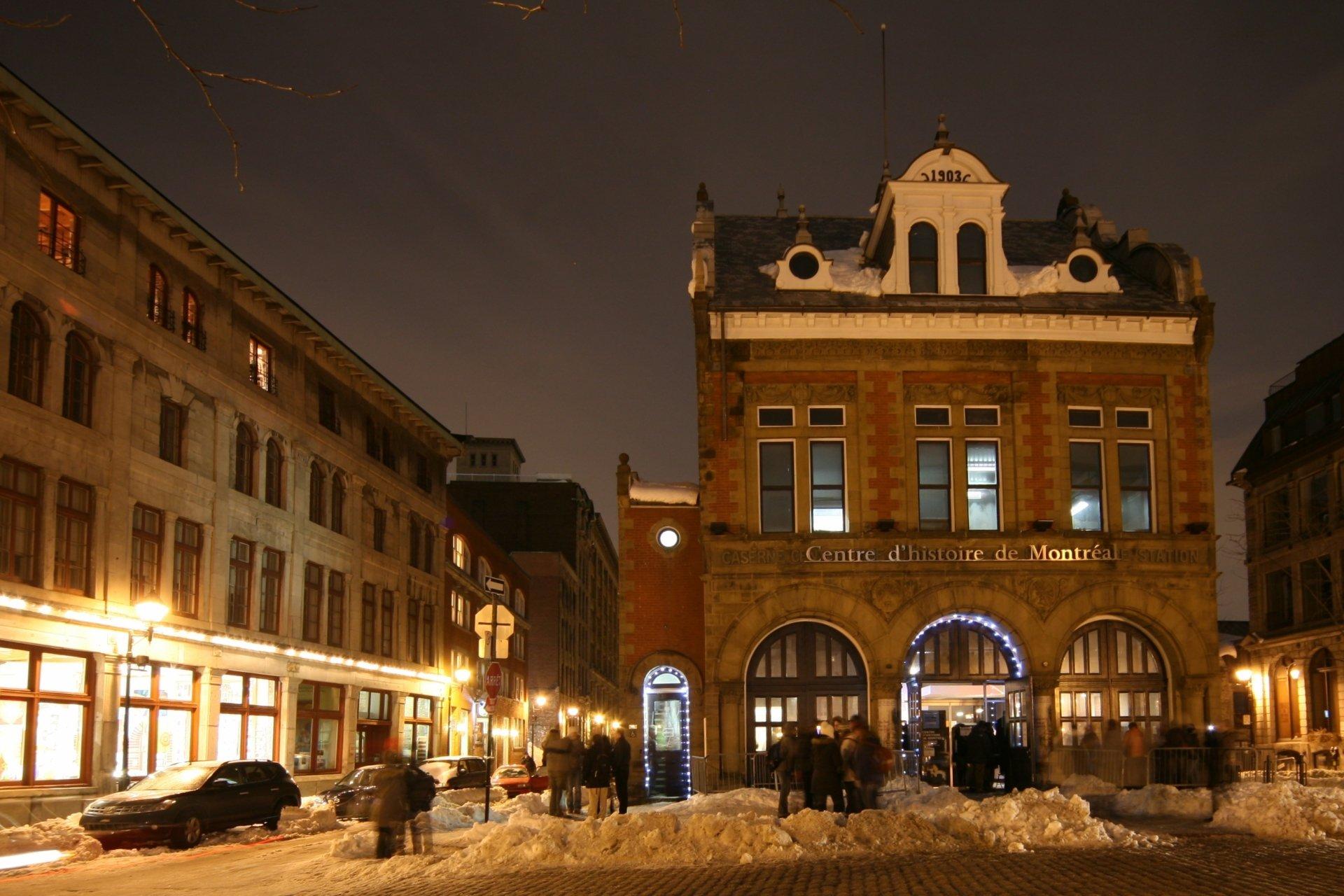 Photography - Winter  Canada Quebec Montreal Snow Wallpaper