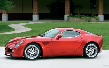 Vehicles - Alfa Romeo 8C Competizione Wallpapers and Backgrounds ID : 186334