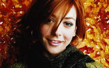 Celebrity - Alyson Hannigan Wallpapers and Backgrounds ID : 186344