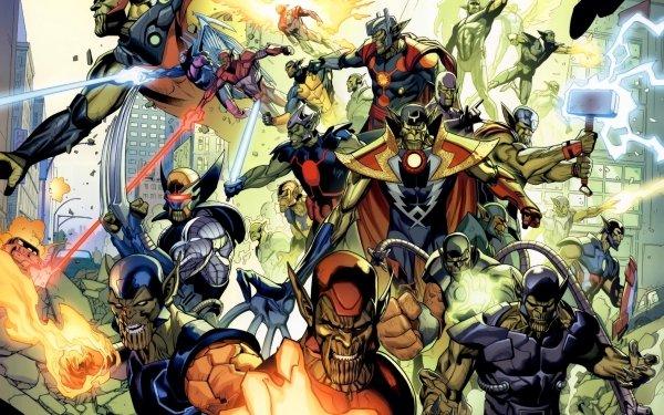 Bande-dessinées Marvel Comics Skrull Fond d'écran HD   Arrière-Plan