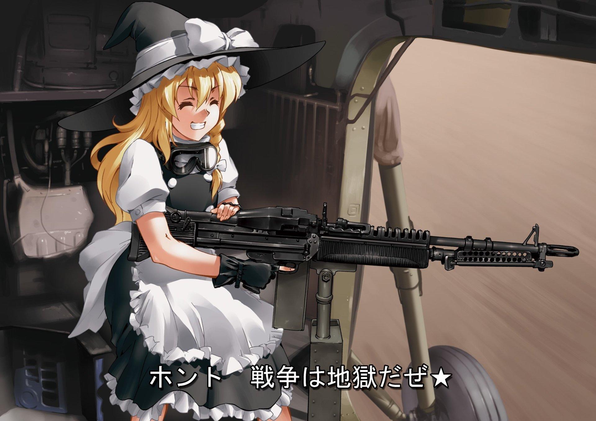 Anime - Touhou  Marisa Kirisame Wallpaper