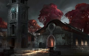 Fantasy - Building Wallpapers and Backgrounds ID : 189816