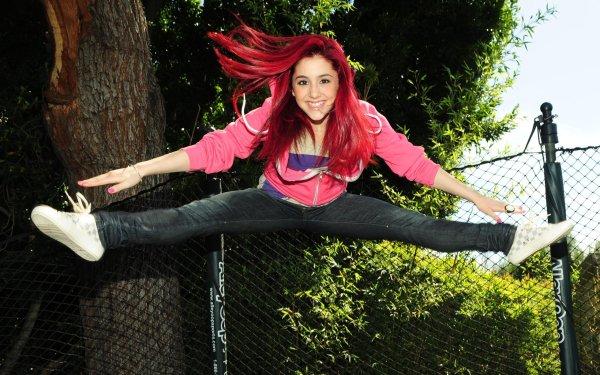 Kändis Ariana Grande Skådespelerskor United States HD Wallpaper | Background Image