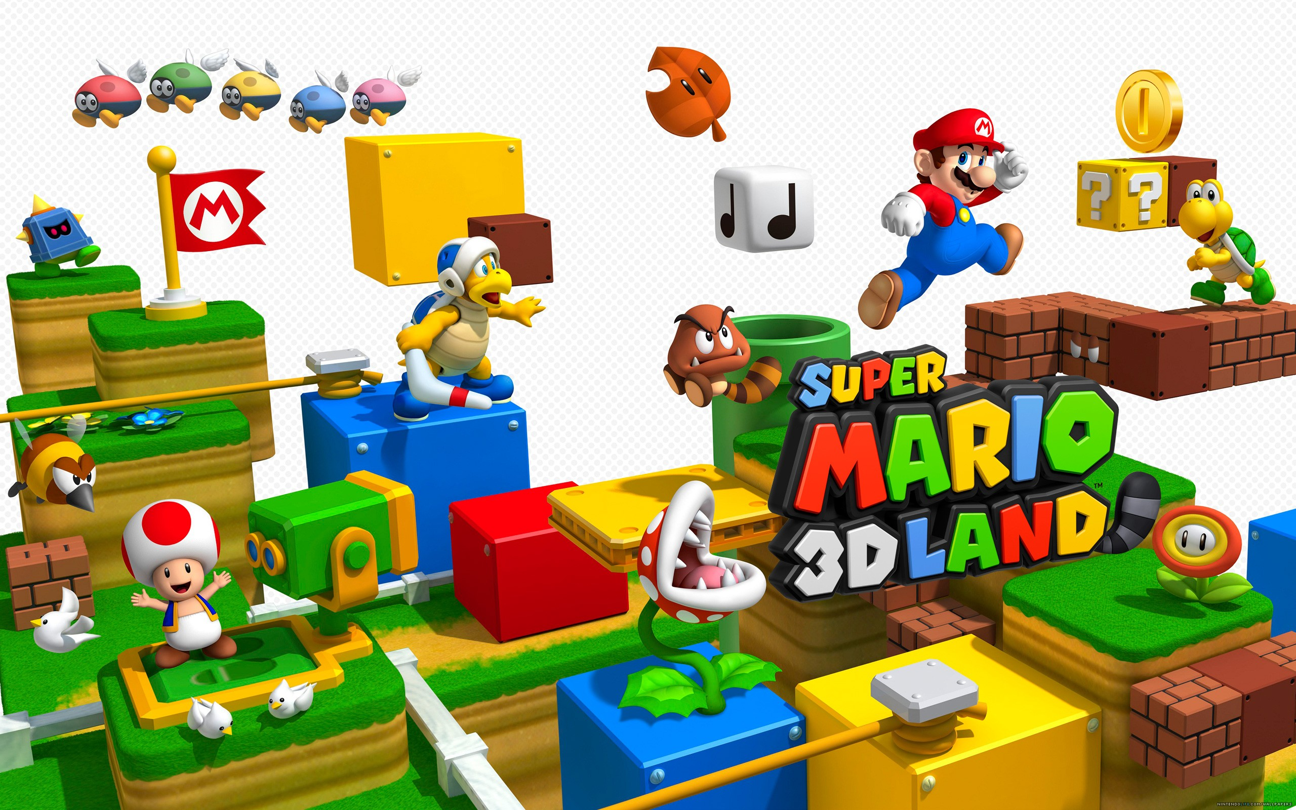 8 Super Mario 3d Land Hd Wallpapers Background Images