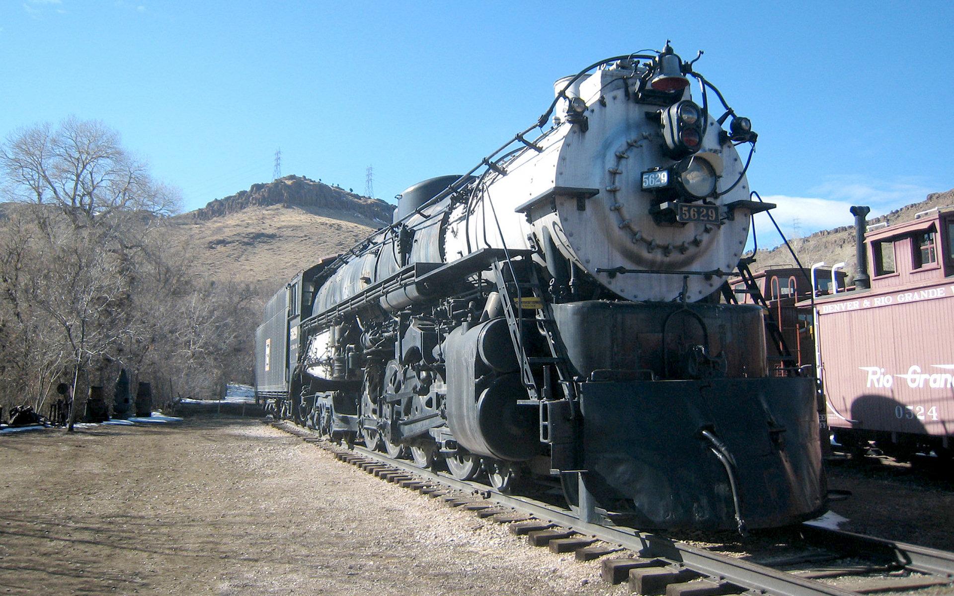 Steam Locomotive HD Wallpaper | Background Image ...