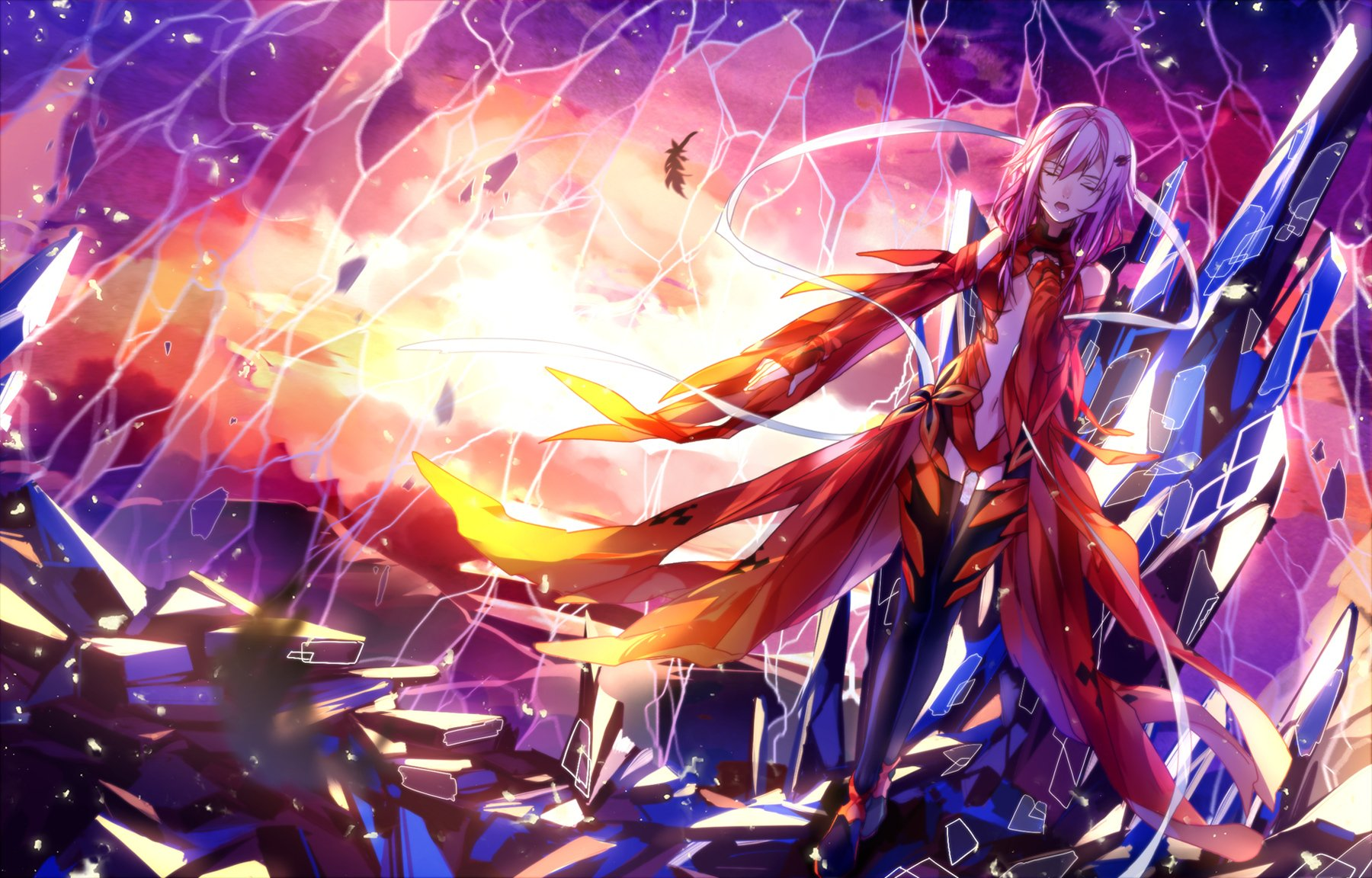 Guilty Crown Wallpaper Inori: Hyperdestructive Wallpaper And Background Image