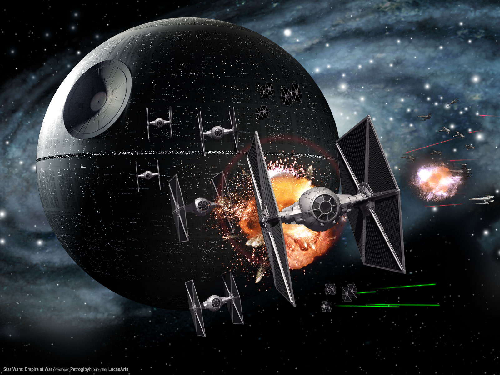 49 death star hd wallpapers | backgrounds - wallpaper abyss