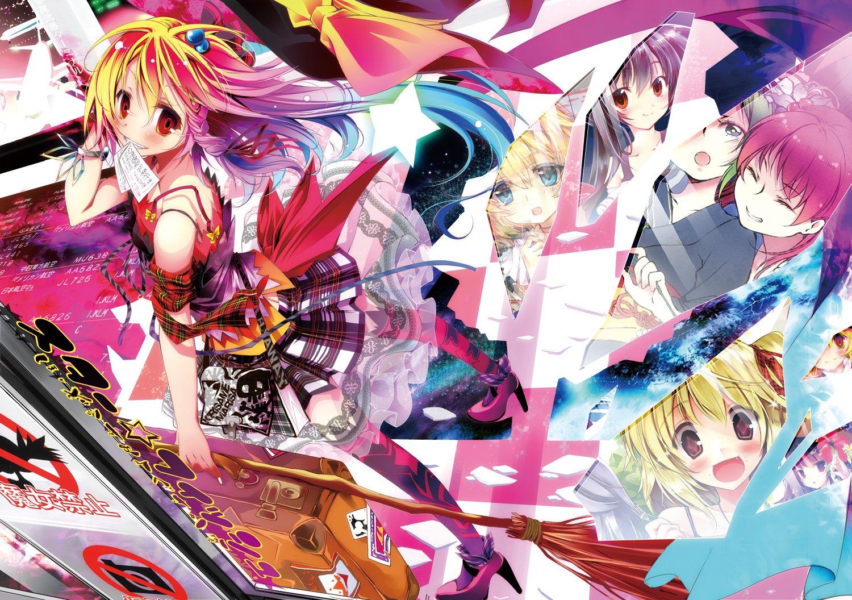 Anime - Touhou  Shrine Maiden Alice Margatroid Flandre Scarlet Marisa Kirisame Komachi Onozuka Patchouli Knowledge Shikieiki Yamaxanadu Rumia (Touhou) Wallpaper