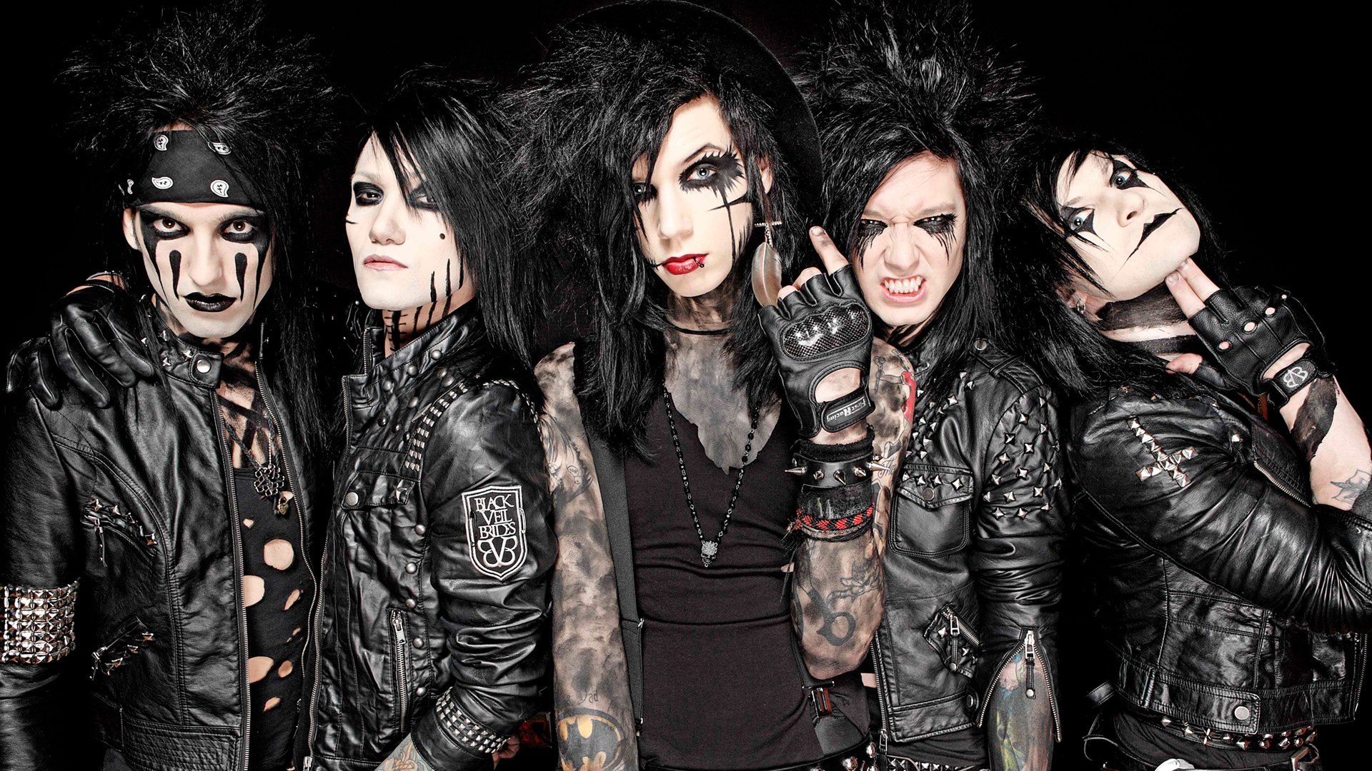 Opinion black veil brides right