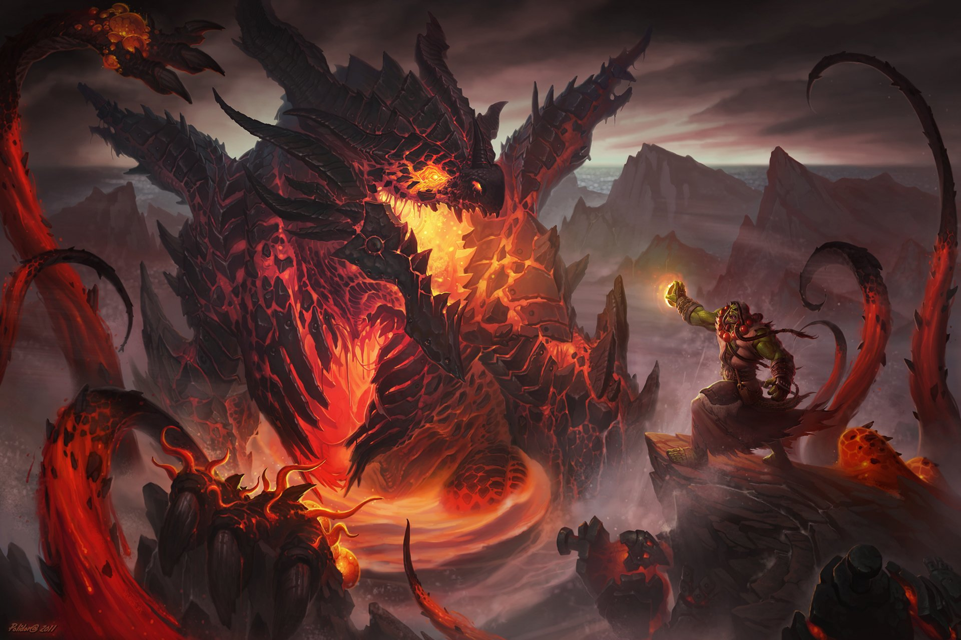 20 Deathwing World Of Warcraft Hd Wallpapers Background