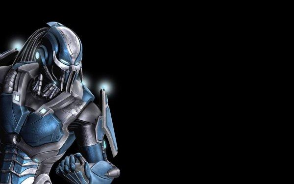 Video Game Mortal Kombat Predator Cyber Sub-Zero HD Wallpaper   Background Image