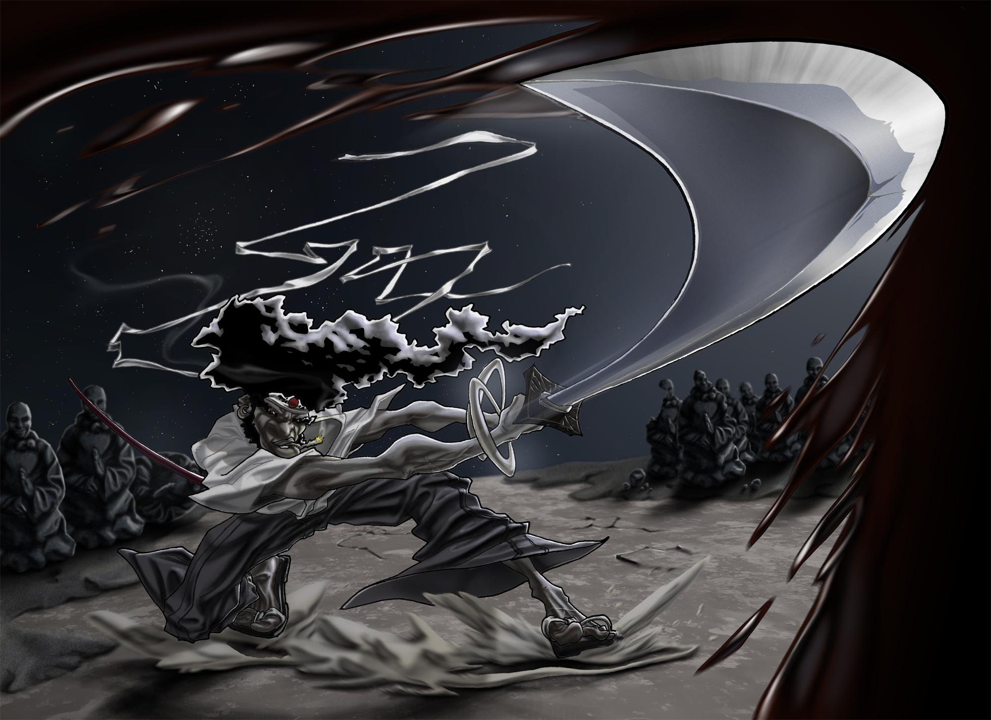 Afro Samurai Hd Wallpaper Background Image 2000x1453 Id 197556