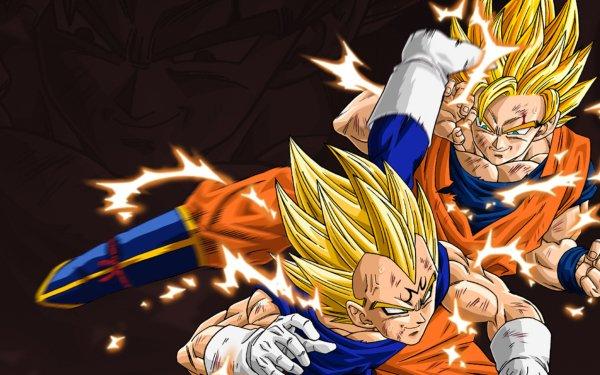 Anime Dragon Ball Z Dragon Ball Dragon Ball Goku Vegeta Super Saiyan 2 HD Wallpaper | Background Image