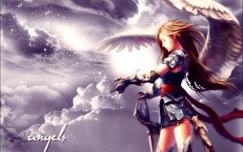 Fantasy - Angel Warrior Wallpapers and Backgrounds ID : 19874