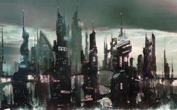 Sci Fi - City Wallpapers and Backgrounds ID : 198938