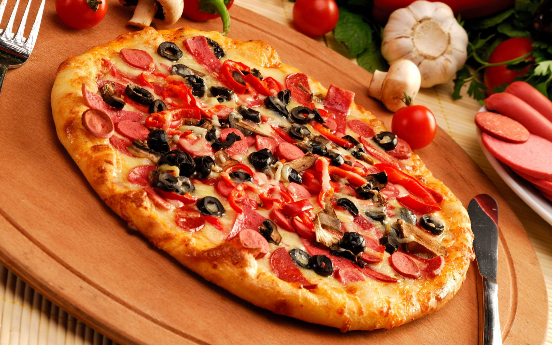 Pizza 5 Full HD Wallpaper And Background Image