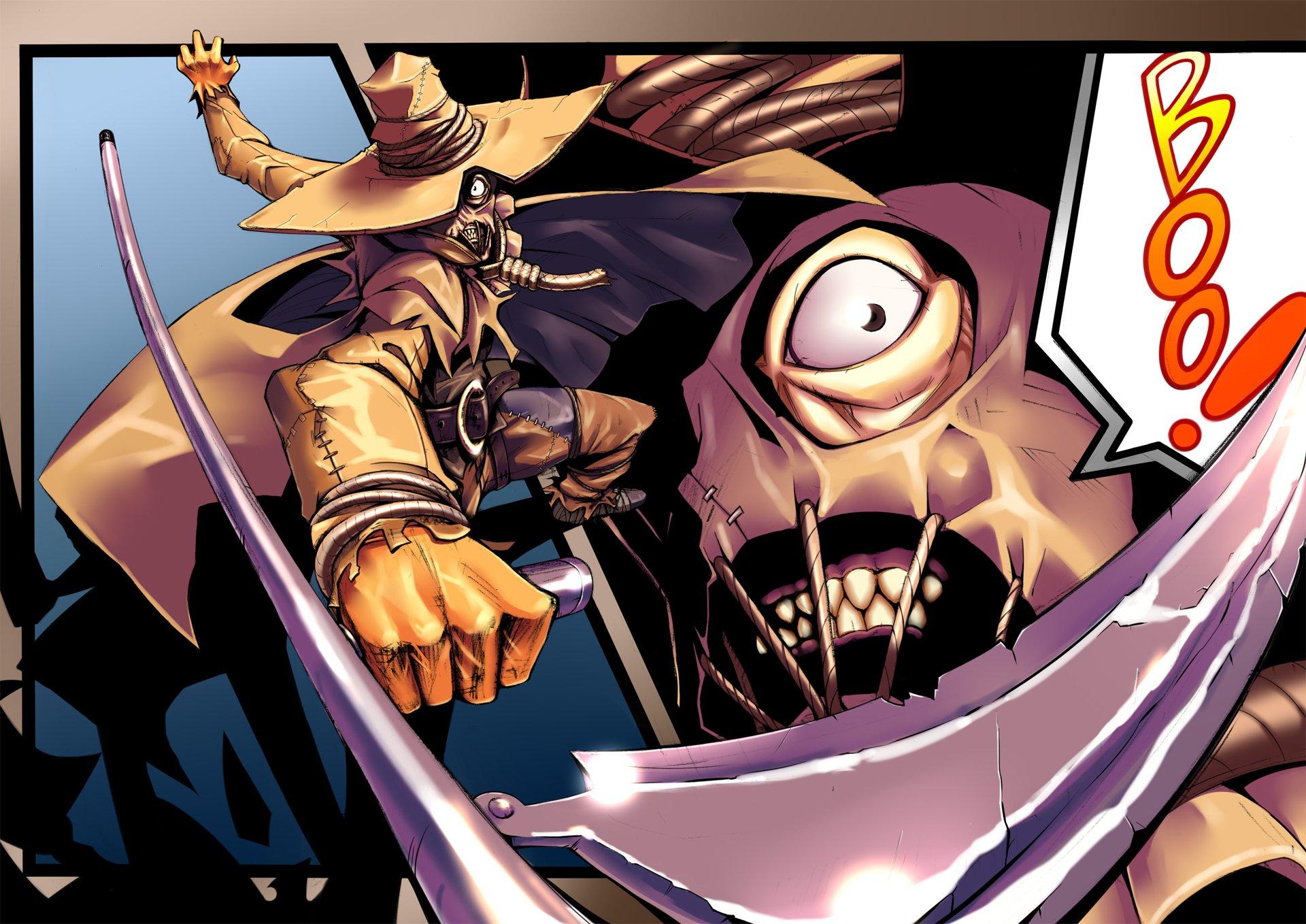 Comics - Batman  Scarecrow (Batman) Wallpaper