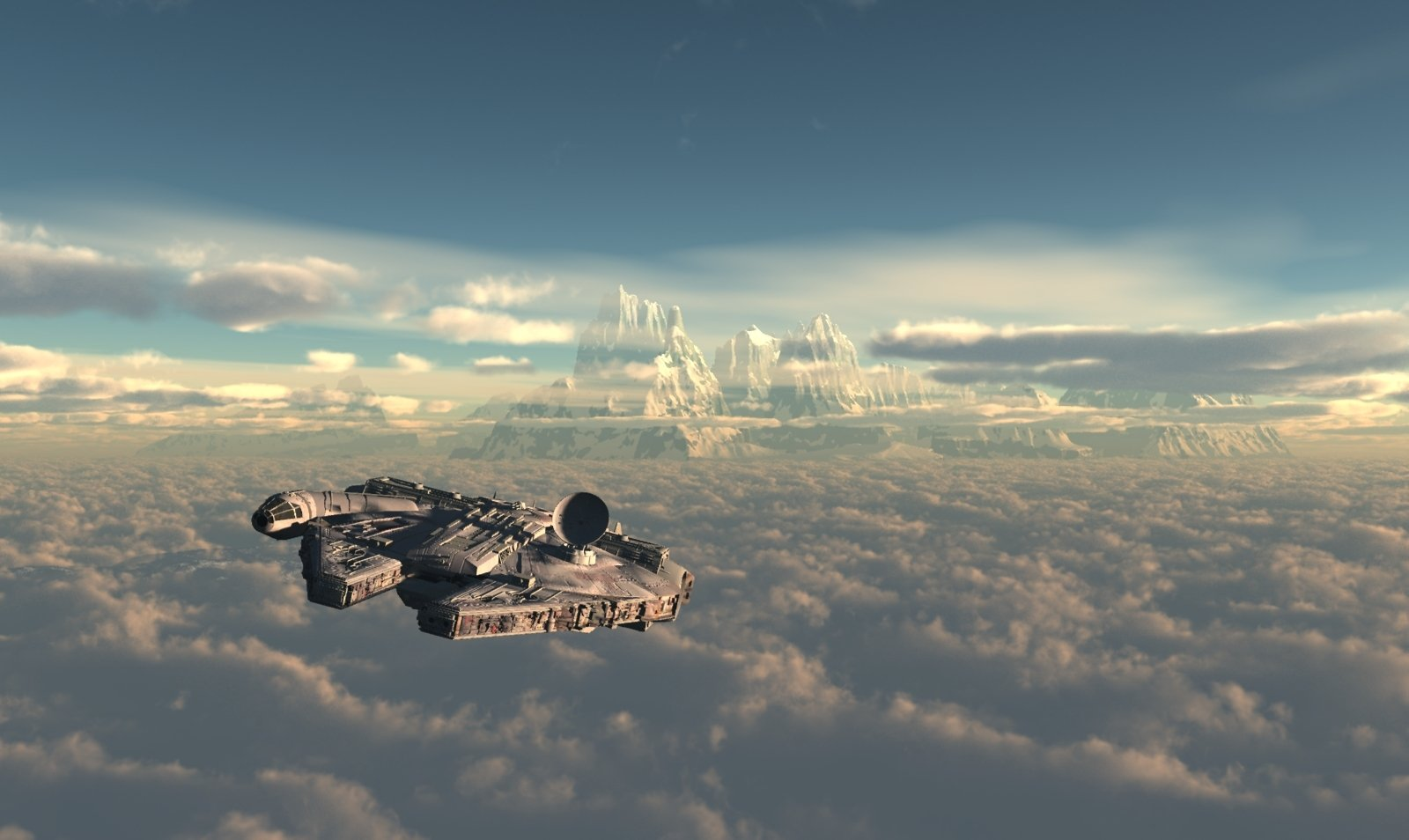 94 Millennium Falcon Hd Wallpapers Background Images Wallpaper Abyss