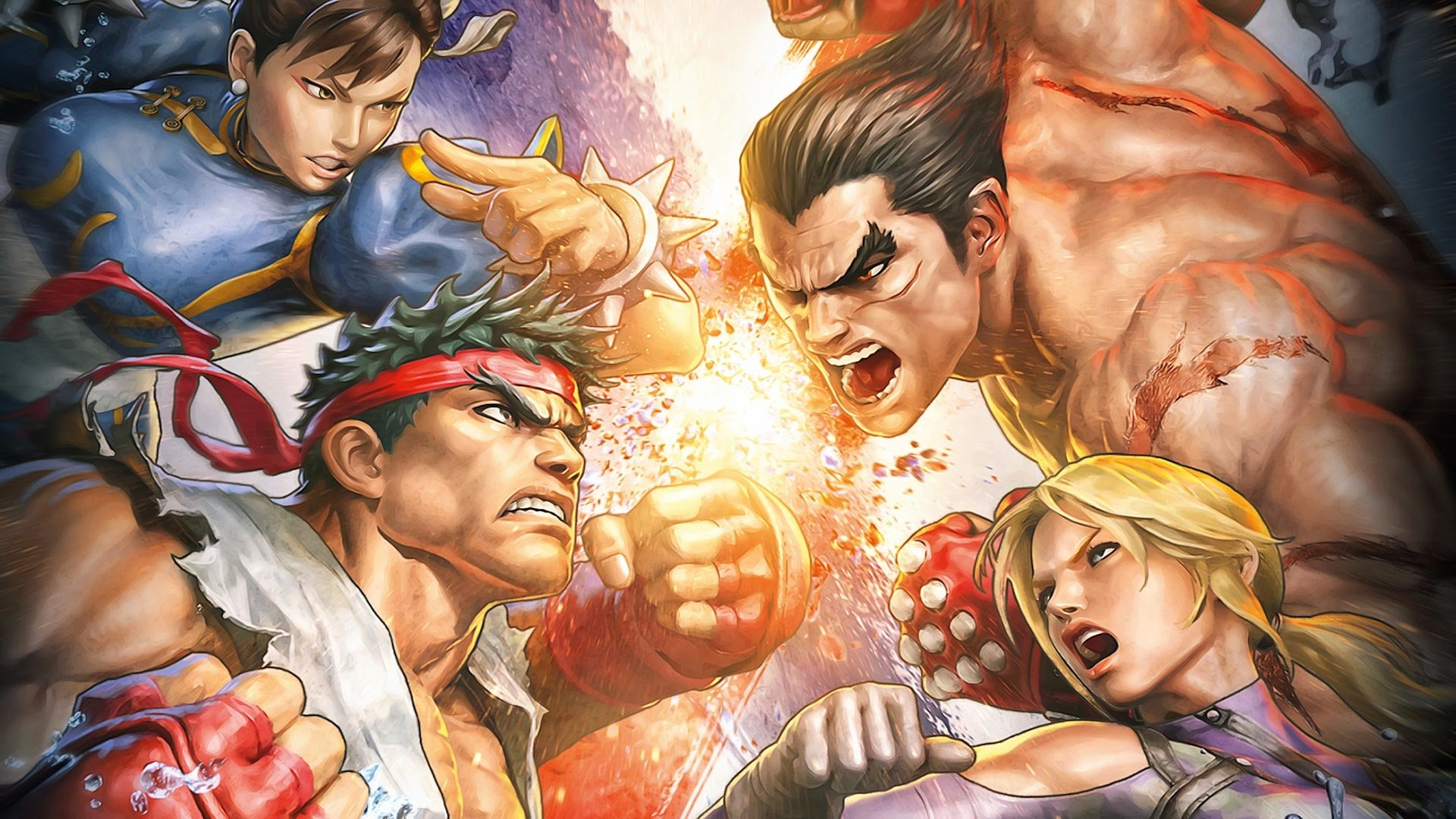 39 Street Fighter X Tekken Hd Wallpapers Background Images Wallpaper Abyss