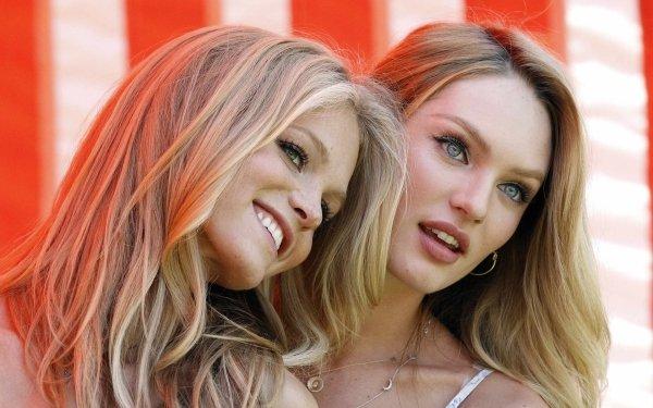 Women Model Models Candice Swanepoel Erin Heatherton HD Wallpaper | Background Image