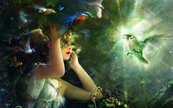 Fantasy - Women Wallpapers and Backgrounds ID : 201698