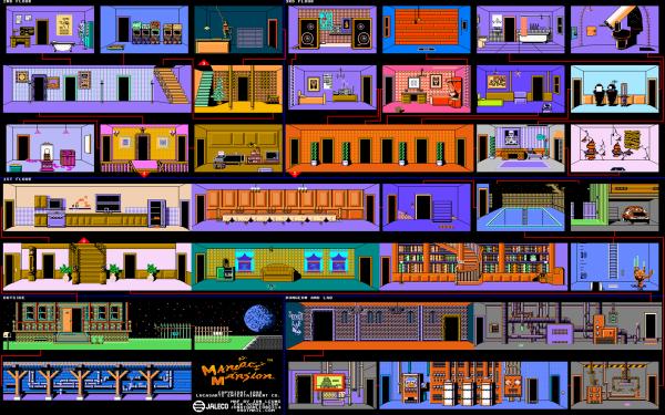 Video Game Maniac Mansion HD Wallpaper | Background Image