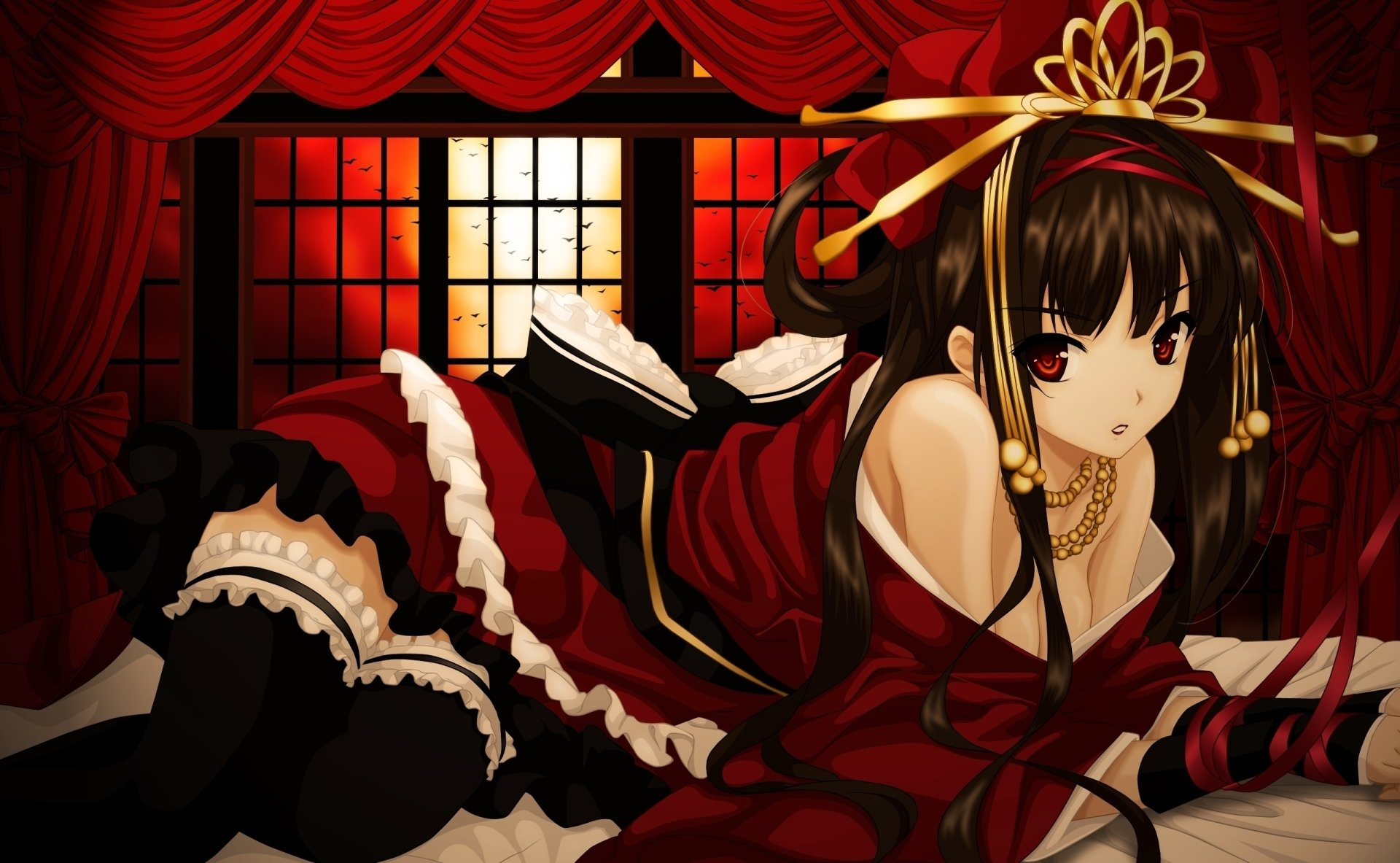 Anime - Original  Anime Original (Anime) Girl Wallpaper
