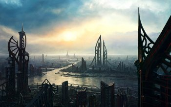 Sci Fi - City Wallpapers and Backgrounds ID : 202144