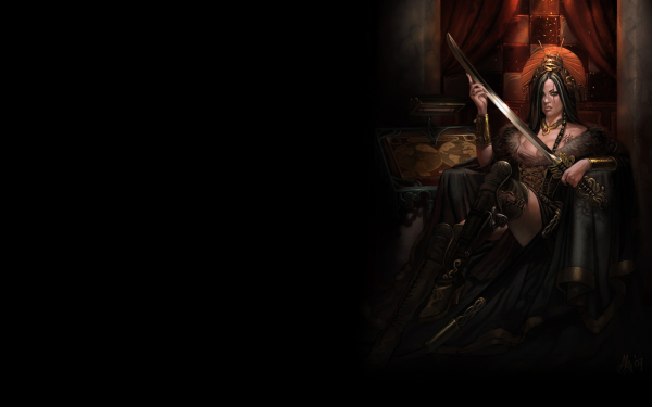 Fantasy Women Warrior HD Wallpaper   Background Image