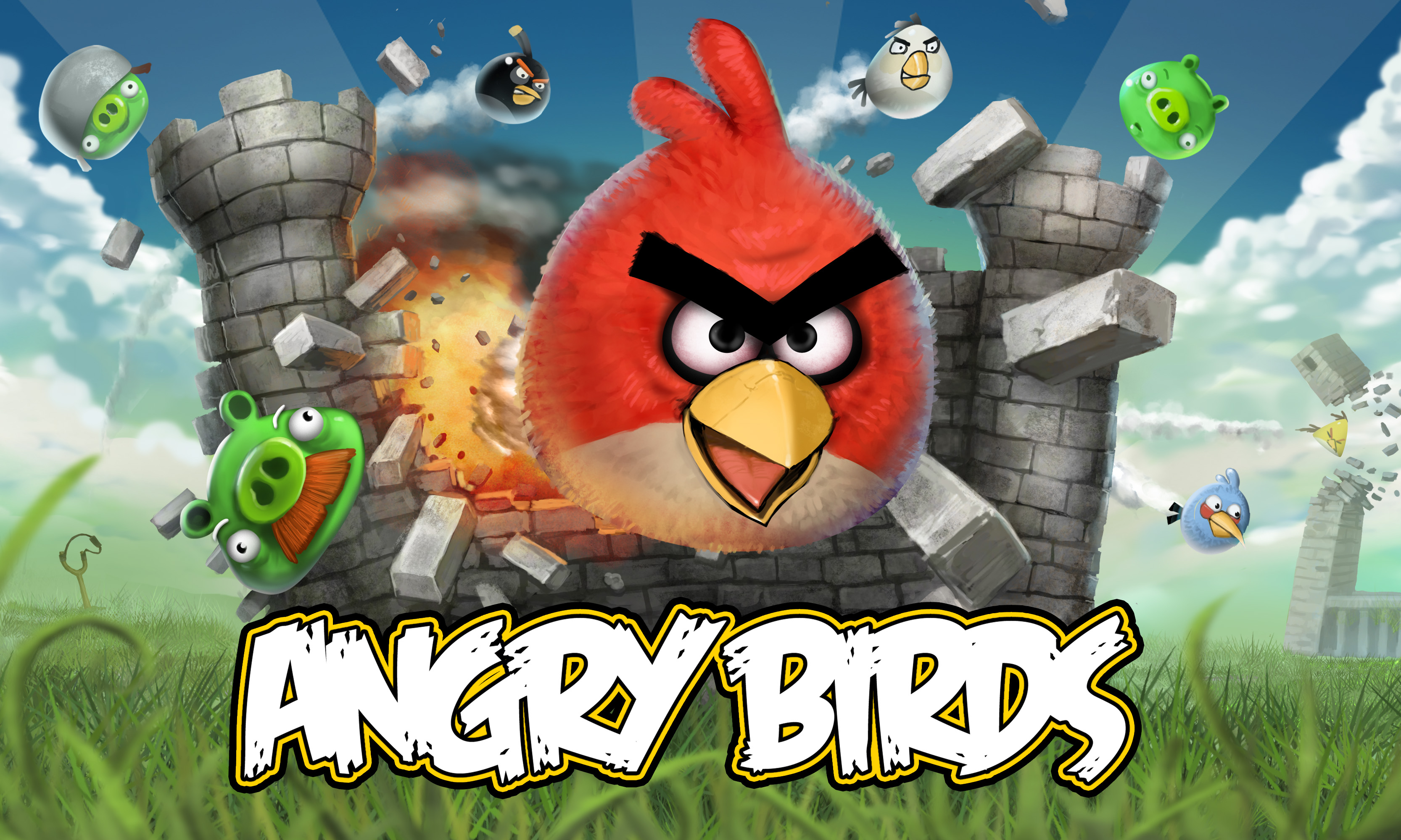 Angry Birds HD Wallpaper   Hintergrund