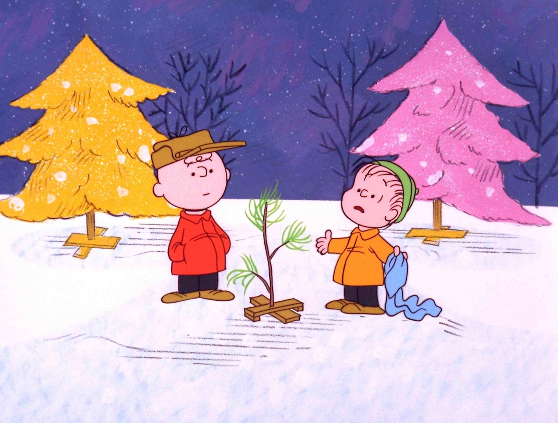 2560x1440 charlie brown christmas tree