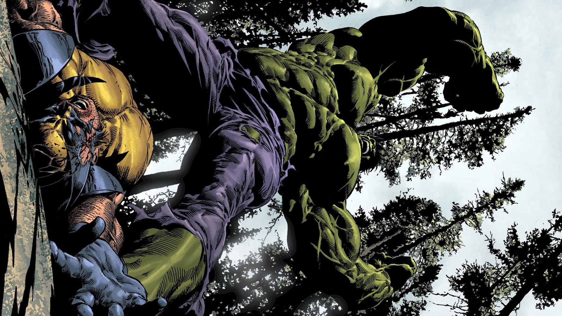 Comics - Hulk  Wolverine Wallpaper