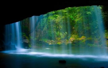 Earth - Waterfall Wallpapers and Backgrounds ID : 203214
