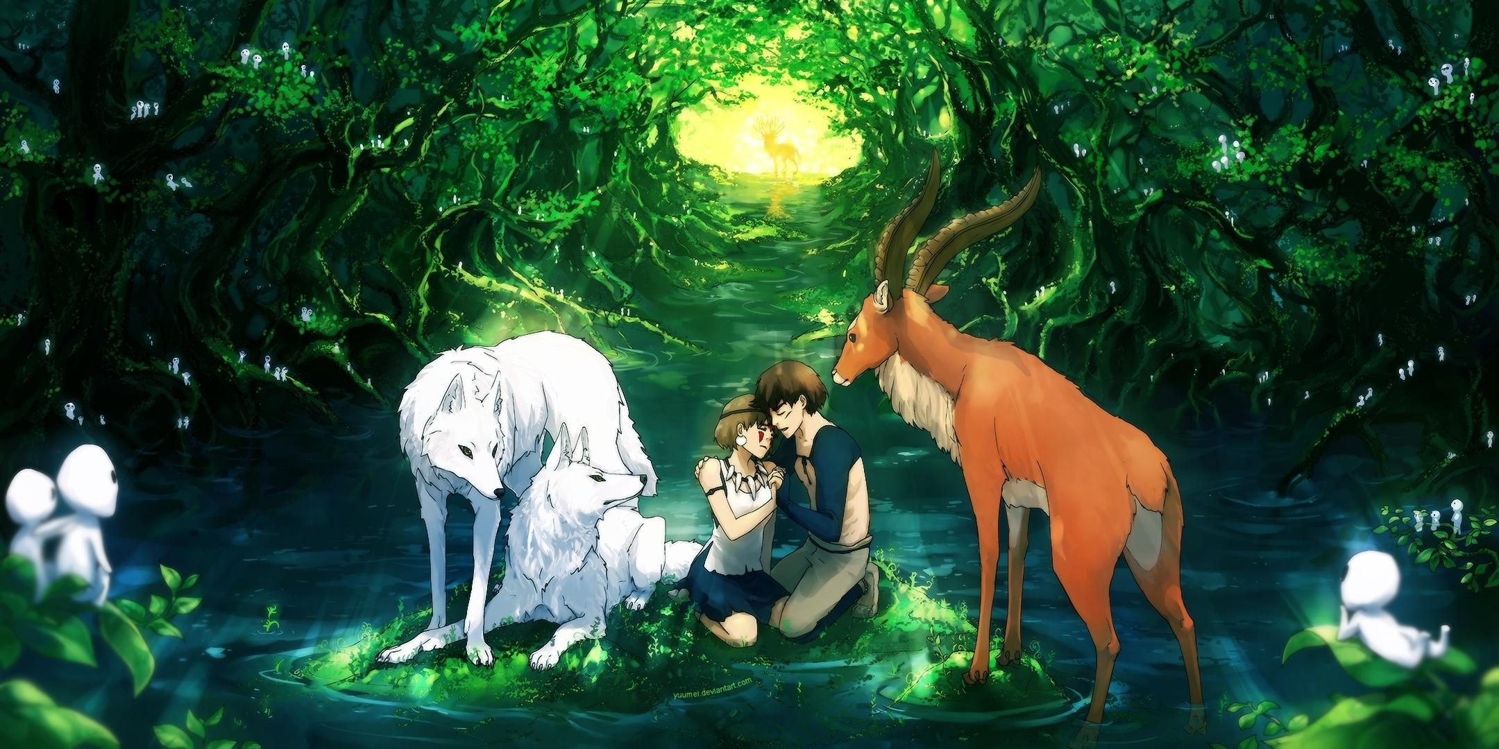 Hd Wallpaper Background Image Id X Movie Princess Mononoke