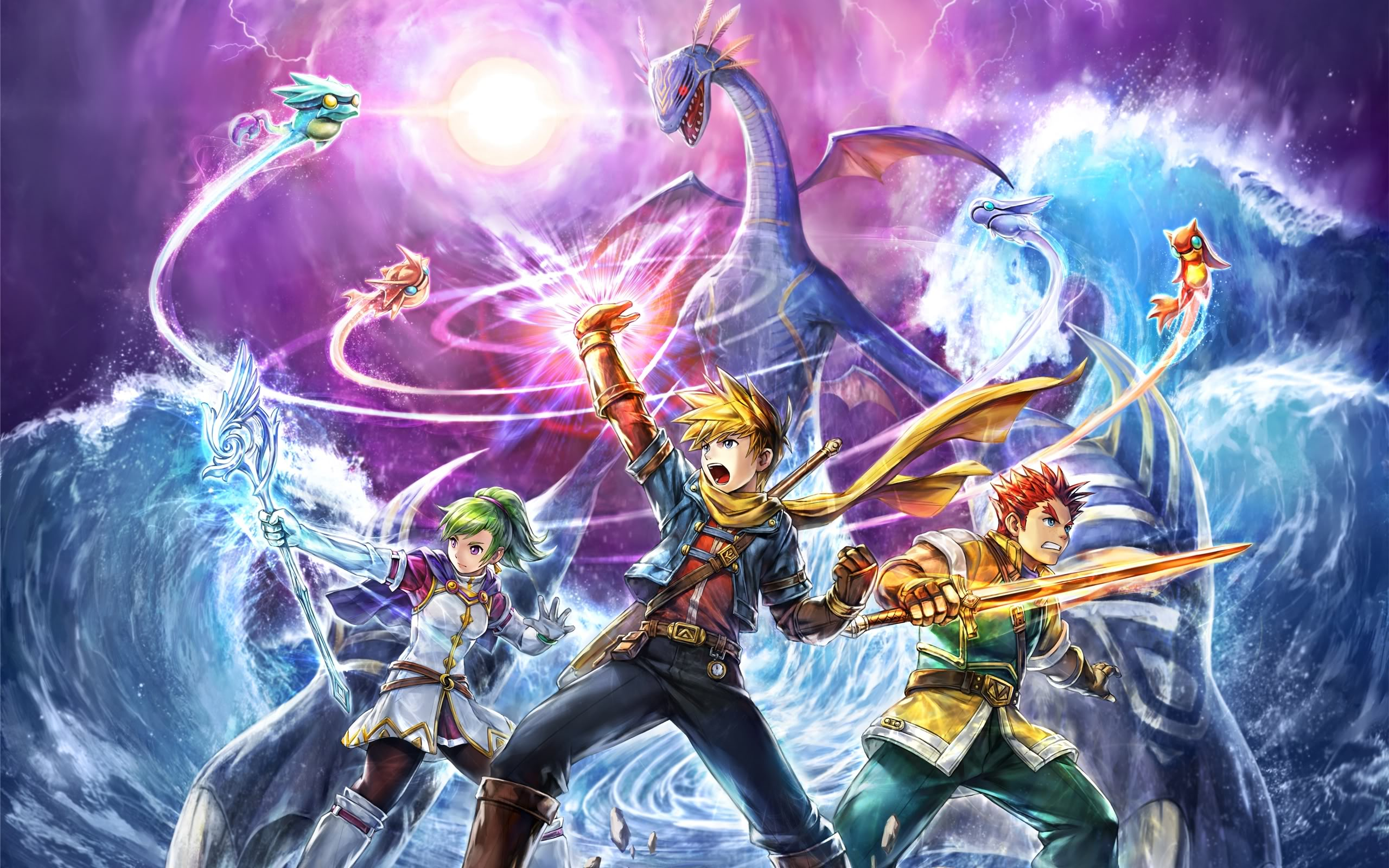 golden sun hd