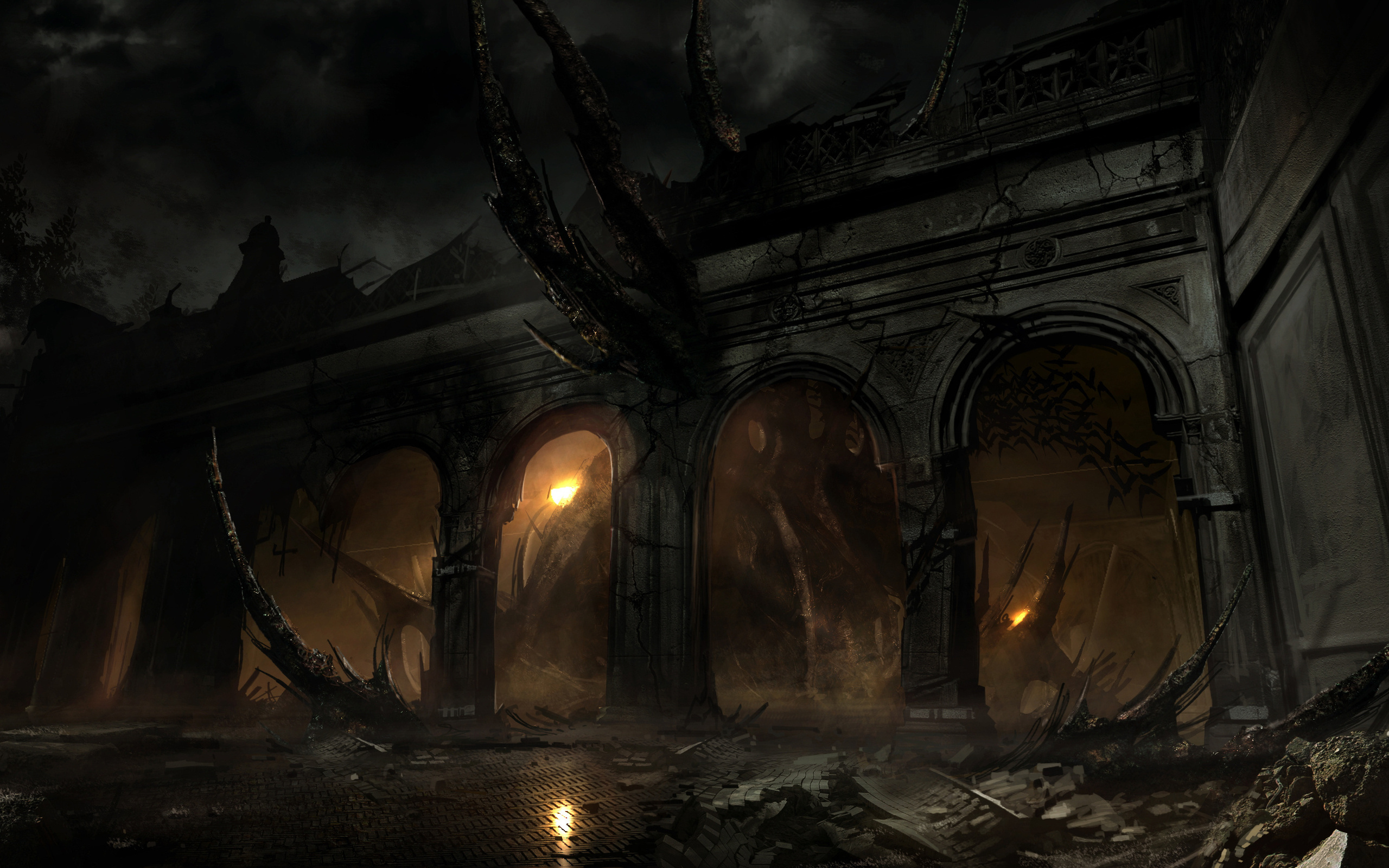 Alone In The Dark HD Wallpaper