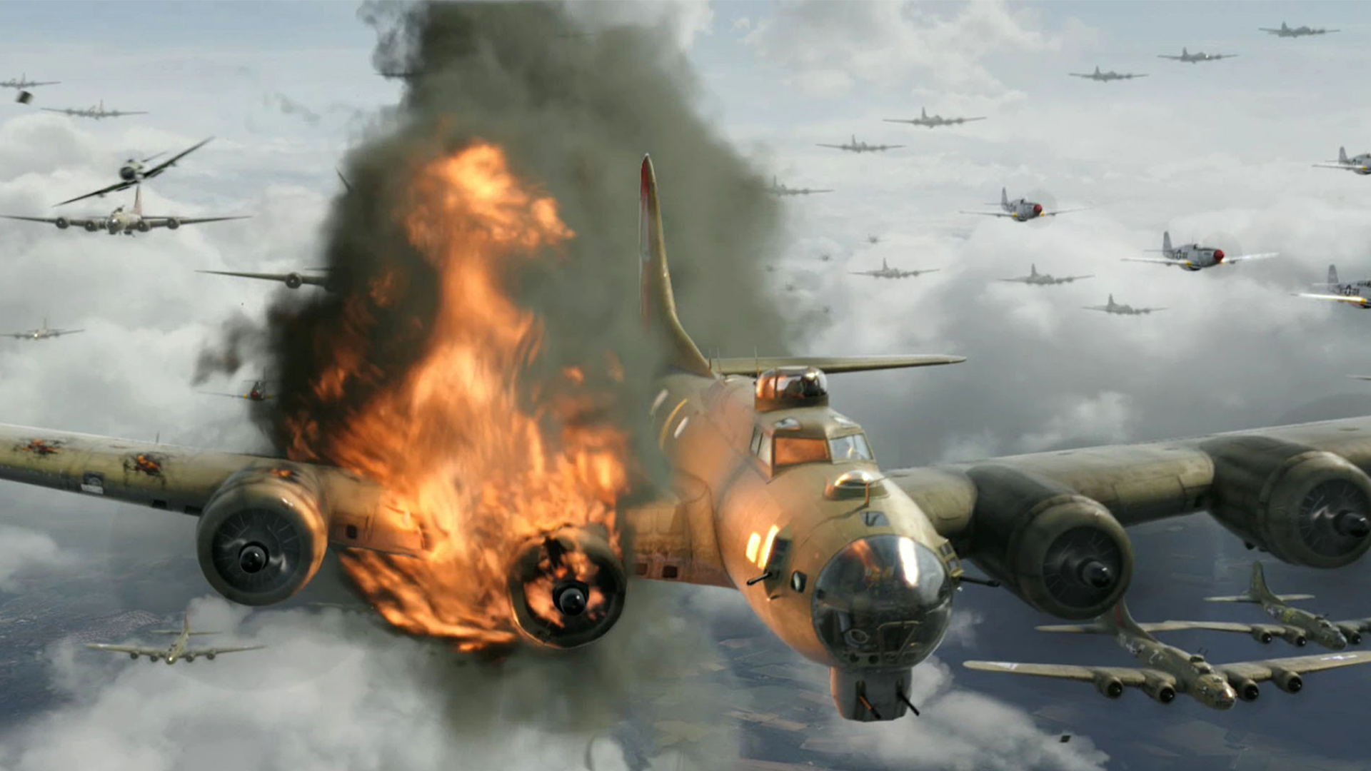 P 51 Red Tails Red Tails Full HD Wall...