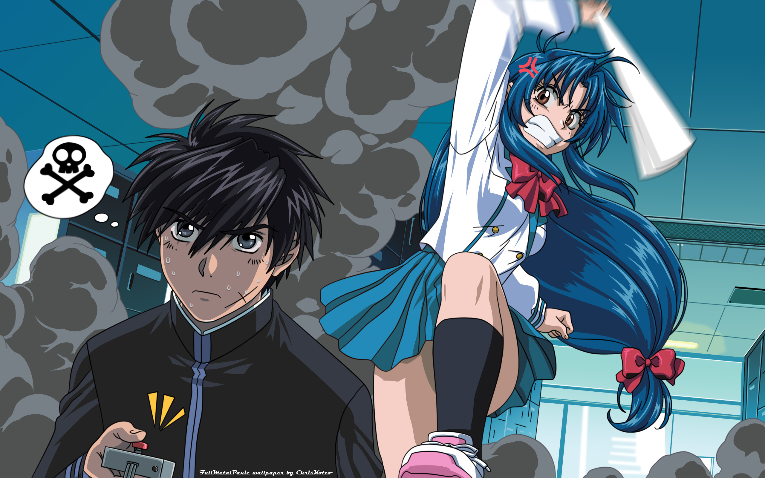 Anime - Full Metal Panic!  - Full Metal Panic Wallpaper