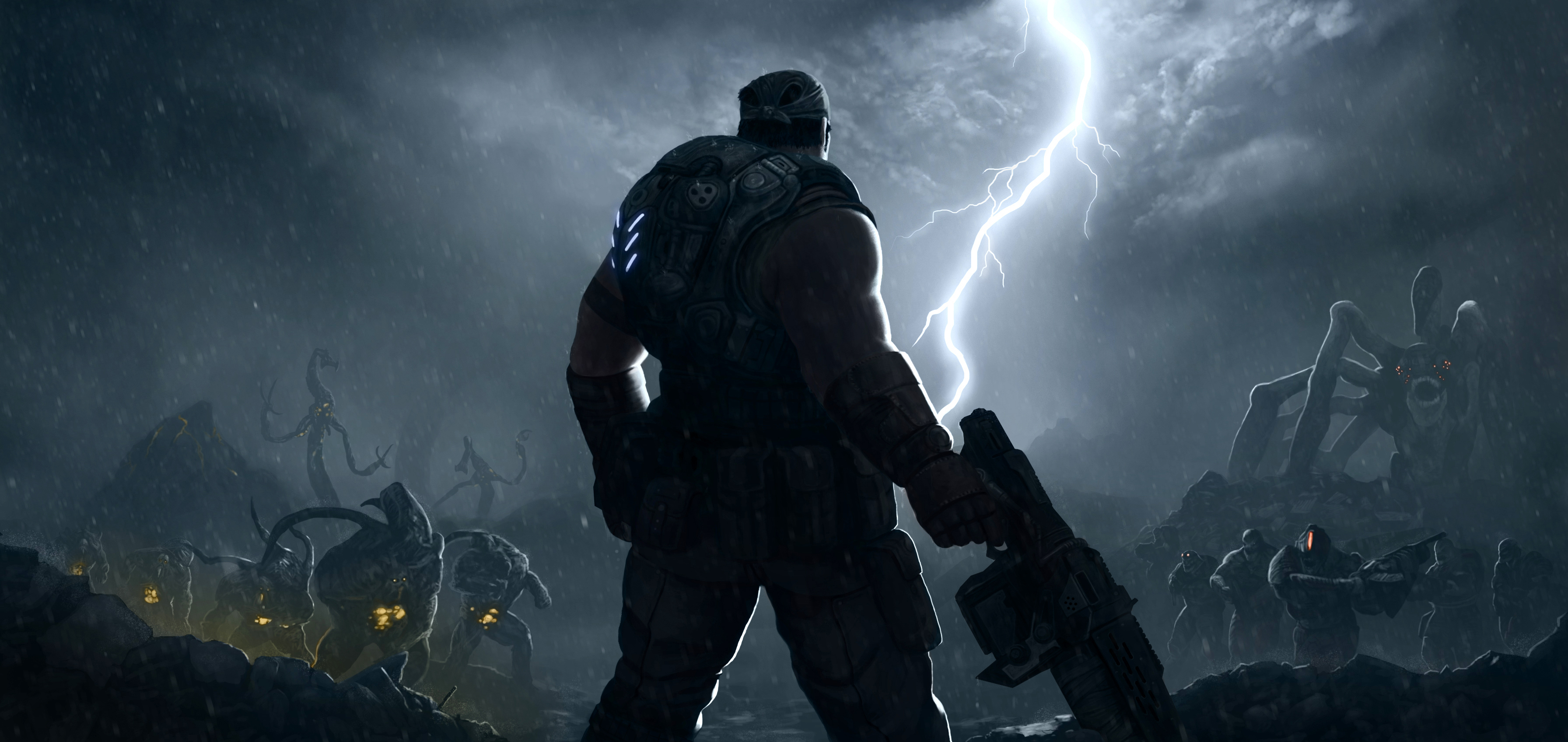 Gears Of War 3 Hd Wallpapers For Android: Phil Spencer Acknowledges GoW: Marcus Fenix Collection