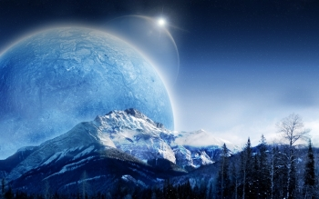 Science Fiction - Planet Rise Wallpapers and Backgrounds ID : 205116