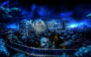 Fantasy - Großstadt Wallpapers and Backgrounds ID : 205234